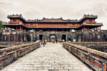 Imperial citadel | Hue. Source: http://www.sapa-tours.net/