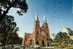 Saigon Cathedral Church. Source: http://giaophanthaibinh.org/